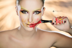 Fashion and Beauty (Lo_straniero) Tags: portrait makeup fashionandbeauty younesstaouil kreasign ledaenke