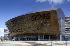 Wales Millennium Centre (fillbee) Tags: wales bay adams theatre jonathan centre cardiff donald millennium gordon cauldron dahl plass roald ceridwens