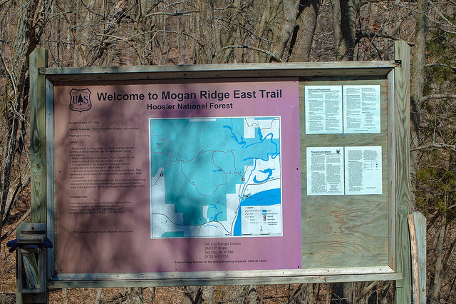 Hoosier National Forest - Mogan Ridge - March 28, 2015