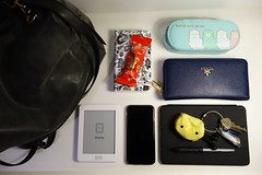 what's in my bag (2015) (wufflebunny) Tags: whatsinyourbag whatsinmybag