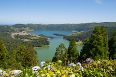 Sete Citades (caropho) Tags: lake portugal volcano crater saomiguel acores azoren setecitades