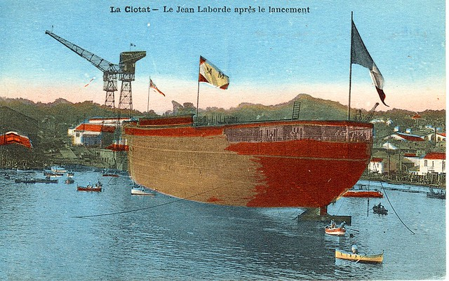 1929.09.28 - JEAN LABORDE  Le lancement (Coll.X.E.)