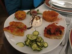 Saturday Colours - Dinner in Matera (Pushapoze - sciatica) Tags: italy food italia basilicata ricotta matera cibo lucania ilcantuccioristorante