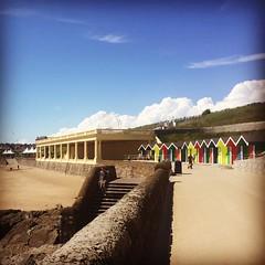 Ynys y barri (akerrz) Tags: summer beach wheel wales bright bluesky ferriswheel barryisland barri