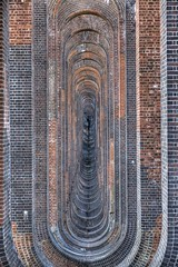 Parentheses (pauldunn52) Tags: brick train sussex colours railway symmetry viaduct heath balcombe haywards