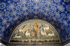 Il buon Pastore - Mausoleo di Galla Placidia (Phantom65) Tags: italy san italia turismo ravenna vitale mausoleo mosaici galla bizantini placidia