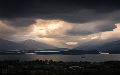Loch Lomond (GenerationX) Tags: sunset sky lake mountains water clouds landscape islands evening scotland unitedkingdom dusk stirling scottish neil gb rays loch dumbarton benlomond trossachs lochlomond barr luss inchcailloch argyllandbute gartocharn inchconnachan inchlonaig inchmurrin duncrynehill inchmoan glenluss canon6d thedumpling