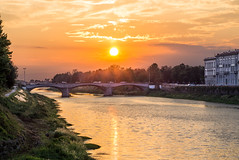 Firenze (aliffc3) Tags: sunset vacation italy holiday landscape florence europe tuscany firenze arnoriver sel50f18 sonya6000