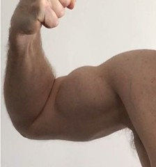 arm and muscular biceps (2014uknz+) Tags: flexedbiceps musculararms big bulgingbiceps muscularbiceps bicep bulgingbicep arm muscle muscular biceps bulging fit gym