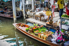 Floating Market (nicoleee317) Tags: travel people cooking thailand boat asia market bangkok culture floating adventure explore exotic
