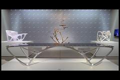 bridge table 01 2009 joris laarman lab (groninger museum 2015) (Klaas5) Tags: holland netherlands table furniture nederland industrialdesign expositie tentoonstelling tafel groningermuseum meubel biodesign vormgeving contemporarydesign jorislaarmanlab picturebyklaasvermaas