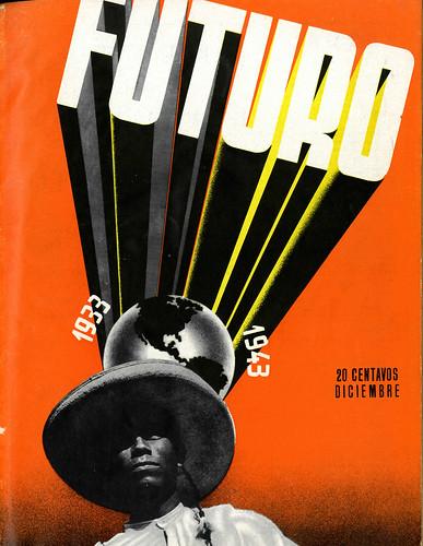 Portada de Josep Renau Berenguer para la Revista Futuro (diciembre de 1943)