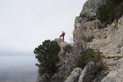 Hiking to 8,751' Guadalupe Peak in Guadalupe Mtns NP - Texas