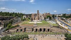 Temple of Venus and Rome (mindweld) Tags: italy rome colisseum romancolosseum templeofvenusandrome thirdtier