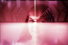 film swap (La fille renne) Tags: portrait film analog 35mm subway xpro lomography doubleexposure lomolca multipleexposure swap crossprocessing fujifilm mx 50mmf18 zenite fujichromevelvia100 filmswap fotobes lafillerenne spookyvalentine