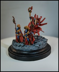 Aun'Va & Ethereal Guard (feelinstrangelyfine) Tags: 40k warhammer tau warhammer40k gamesworkshop aunva etherealguard