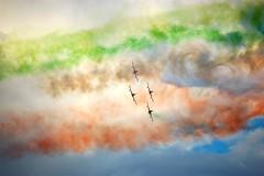 I fumi del tricolore (Beggo e Marina) Tags: fumo tricolore aerei