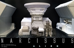 NARCISSUS35 (sith_fire30) Tags: sculpture building art scott miniature big model allen action alien aves ripley shuttle figure beast custom dayton diorama giger narcissus chap hrgiger prometheus sculpt styrene ridley xenomorph nostromo fixit sithfire30 covneant