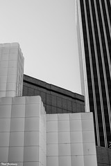 Geometry (Thad Zajdowicz) Tags: abstract building architecture blackandwhite black white bw monochrome shapes lines angles windows lacma losangelescountymuseumofart sbebuilding 5900wilshireboulevard losangeles california zajdowicz fineart canon eos 5dmarkiii dslr digital outside outdoor urban city daylight availablelight form composition lightroom minimal 50mm primelens ef50mmf12lusm