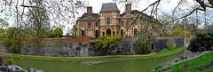 eltham palace gardens (stusmith_uk) Tags: london gardens april moat elthampalace eltham 2016 englishheritage capitalring