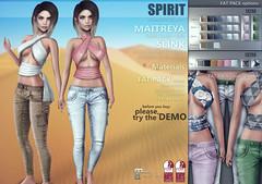 SPIRIT - Sahara outfit (SPIRIT) Tags: byspirit catwa eclat fiore letre labelmotion maitreya mandala mithral slink spirit