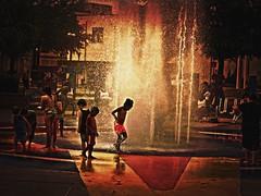 a hot day in Lafayette LA (BW3200) Tags: fountain lafayettela olympusem5 garryvelletri