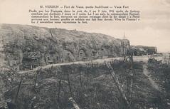 Der Wahnsinn des Krieges -  Postkarte aus einem alten Album - gescannt (mama knipst!) Tags: worldwari 1916 verdun oldpostcard 1weltkrieg