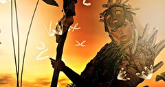 written in scars (talloulah.warra) Tags: staff masks jungle warrior highwater scars pfc