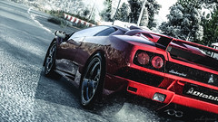 Against wind (Velvet Pines) Tags: italy driveclub ps4 game playstation lamborghini