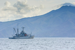 _D712758-exp (hcalubiran) Tags: ocean mountain bay boat philippines navy subic sbma