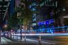 mission drive (pbo31) Tags: sanfrancisco california blue motion black color june night dark evening spring nikon traffic infinity bayarea roadway missionstreet 2016 lightstream boury pbo31 d810 financialdistrictsouth