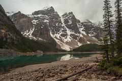 Moraine Lake (Chris @ Didcot) Tags: mountain lake canada water rockies morainelake