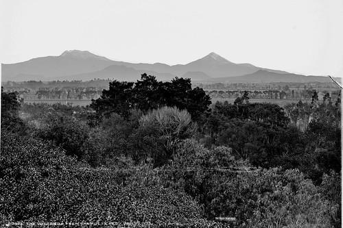 Los Volcanes desde Chapultepec, ca1891.