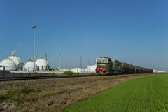 DB CARGO ITALIA (giovannigrasso71) Tags: db cargo italia de520 d520 giovanni grasso nikon d610 diesel caterpillar sannazzaro alessandria smistamento railion schenker fnm