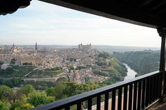 View over Toledo (krmesser2105) Tags: panorama river spain muses toledo alcazar tejo tajo parador paradordetoledo vistaciudad panoramicaciudad cathedaldetoledo