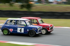 Mighty Mini's ({House} Photography) Tags: old uk classic car festival canon kent mini automotive super racing hatch panning mighty circuit minis brands motorsport fawkham 70d housephotography timothyhouse