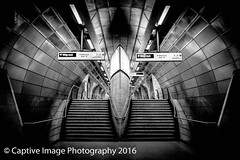 Metro (_Captive Image_) Tags: train tube southwark station blackandwhite captiveimagephotography metro