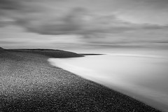 The Shore (TS446Photo) Tags: digital waves pattern long exposure nikon nikkor grey black white sea coast coastal shingle shore noiretblanc london bw mono monochrome blackandwhite format hitech 16stop le longexposure tripod d600 d800 df fx city cityscape landscape urban detail contrast sharp lightroom manfrotto befree explore flickr fineart art fine print forsale sold sale street photographer londonfineartphotography photography tint dslr pro wow unique iconic icon legend england uk britain europe