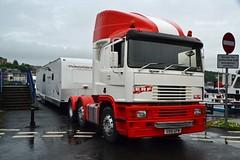 (Zak355) Tags: erf truck lorry ec11 caravan fair bigslide bute rothesay isleofbute scotland scottish haulage