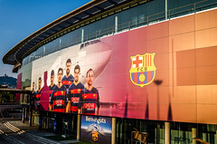 Needs no introduction (DingoShoes - life's a dream) Tags: barcelona noucamp stadium football passion spain tour nikond7000 afsnikkor18105mm13556ged travel travelphotography wanderlust memories