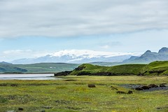 Eyjafjallajokull Iceland (Einar Schioth) Tags: eyjafjallajokull eyjafjallajkull reynisfjara water sky summer sea sun day canon clouds cloud coast nationalgeographic ngc nature mountains mountain glacier grass grassland landscape lake photo picture outdoor iceland sland ice einarschioth
