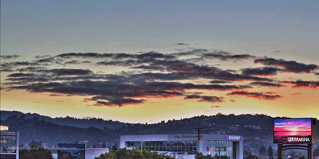 Day 038.365 - Redwood City - San Carlos Skyline HDR