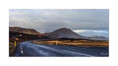 Road in Iceland - Route en Islande