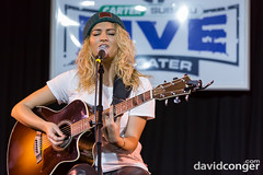 Tori Kelly at the Carter Subaru Live Theater (davidconger.com) Tags: show musician music lights concert audience live stage performance event sound audio davidcongercom