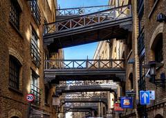Shad Thames (branestawm2002) Tags: london towerbridge spice bridges doctorwho wharf trade shadthames warehouses daleks