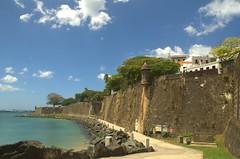 Casa Blanca and San Juan Walls (www78) Tags: old de puerto casa san juan rico blanca leon walls ponce