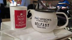 Don't Panic!!! (Katie_Russell) Tags: ireland food hot restaurant tea drink harbour mug teapot northernireland ni ulster portrush nireland countyantrim coantrim ramore punjana thompsonstea