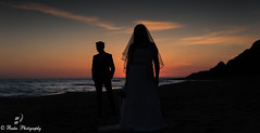 Perfect Posing After Wedding (Foto Bastas) Tags: travel blue wedding sea sun color beach nature beautiful beauty outside island nikon europe exposure pretty day niceshot awesome greece shooting simple corfu magical effect warer susnset afterwedding amaging d810 ελλαδα κερκυρα waterweather nicond810