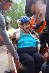 Elder Care Ride (gregraisman) Tags: senior portland living hospice care pedicab active