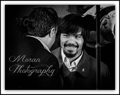 Manny Pacquiao (EASY GOER) Tags: nyc blackandwhite sports sport canon fighter great professional boxer greatest boxing athlete 56 400mm 50d mannypacquiao